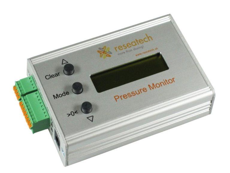 pressure monitor device